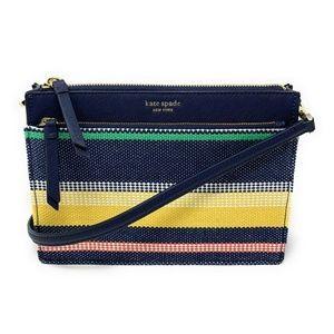 Kate Spade Cameron Zip Crossbody Bag Stripe